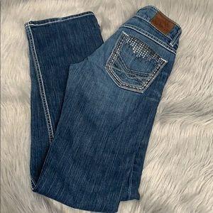 BKE Sabrina bootcut jeans 25L long